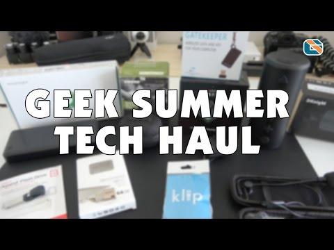 Geek Summer Tech Haul #geek #tech #haul