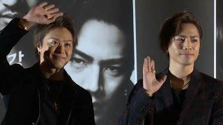 [풀영상] 타카히로·토사카 히로오미 '하이&로우 더 레드 레인' 쇼케이스 (Exile, 登坂広臣, 田崎敬浩, High&Low The Red Rain) [통통영상]