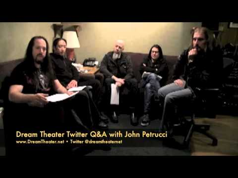 Dream Theater Twitter Q&A with John Petrucci, what's the 1st impression of Richard Chycki?