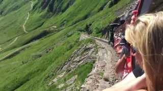 June in Switzerland - Plane, train, boat and bus.