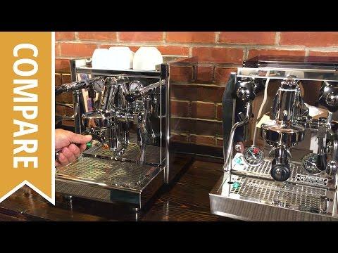 Compare: ECM Technika and Rocket Giotto Espresso Machines