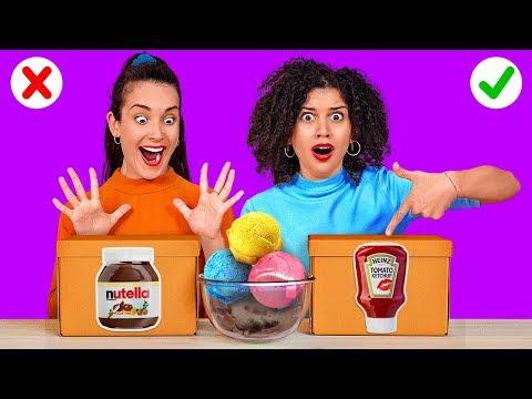 ESCOLHA O SEU MOLHO || Quem comer mais vence! Combinações estranhas de comida por 123 GO! CHALLENGE