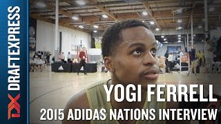 Yogi Ferrell 2015 Adidas Nations Interview
