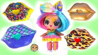Video New Lips for LOL Surprise  ! SWAK Sealed With A Kiss At Shopkins Makeup Shop MP3, 3GP, MP4, WEBM, AVI, FLV Maret 2019