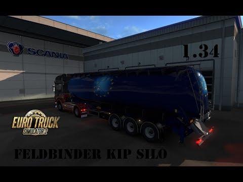 Owned Silo Trailer Feldbinder 1.34