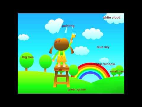 Lectie de engleza pentru copii - Casa si gradina