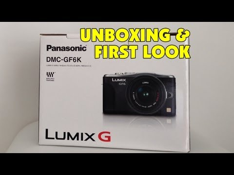 davomrmac - Panasonic Lumix DMC-GF6 Unboxing & First Look ... check out what you get in the box, plus a look at the controls & features, giving you an overall feel if th...
