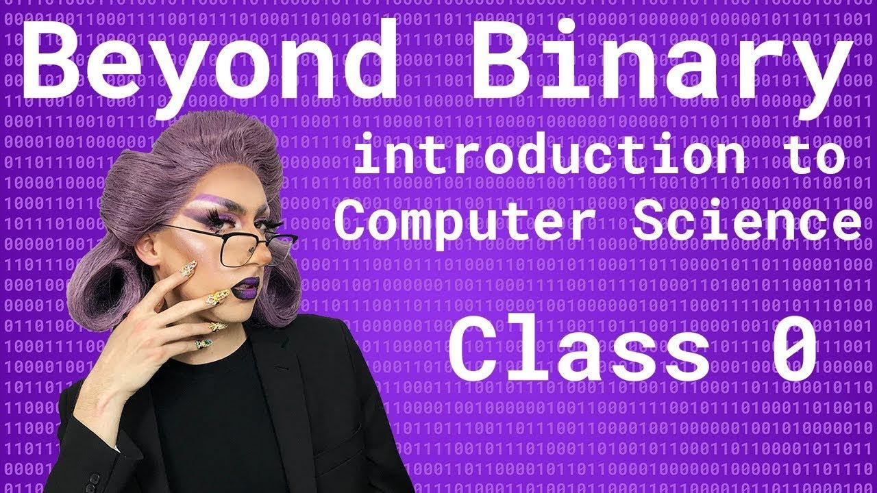 Anna Lytical teaches Computer Science 101