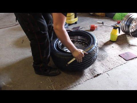 How to mount tires by hand: Yokohama Advan Neova AD08R