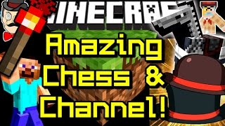 Minecraft Epic REDSTONE CHESS&New Channel Launch!