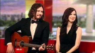 The Civil Wars Interview BBC Breakfast 2012