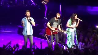 Dancing Away With My Heart - Lady Antebellum 8/12/17 Mansfield, MA