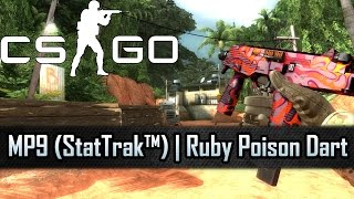 "► Counter-Strike: Global Offensive► Watch in 1080p► Playlist: http://bit.ly/1l4BDzhMP9 (StatTrak™)  Ruby Poison DartExterior: Factory NewWho says diamonds are a girl's best friend? The ""Falchion""-Collection_______________________________________Follow us on: Twitter: http://twitter.com/moebotzzFacebook: http://www.facebook.com/moebotzzGoogle+: http://bit.ly/1sAoeyx_________________________________________PC-Setup:CPU: Intel Core i5 4690 4x 3.50GHzRAM: HyperX Savage 8GBGPU: Inno3D GeForce GTX 970 iChill HerculeZ X4 Air BossSSD: Crucial MX100 512GBMotherboard: Asus H97 PlusRecording Tool: NVIDIA ShadowplayKeyboard: Logitech G510Mouse: Steelseries Sensei_________________________________________Music Provided by NoCopyrightSounds:Different Heaven - OMG: https://youtu.be/tua4SVV-GSE_________________________________________StatTrak™ MP9  Ruby Poison DartStatTrak™ MP9  Рубиновый ядовитый дротикMP9(StatTrak™)  红宝石毒镖MP9 StatTrak™  Rubí de Dardo Venenoso"