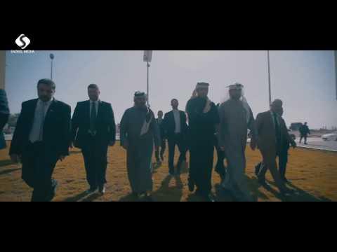 جولة وفد اللجنة القطرية وصندوق قطر للتنمية على مشاريع اللجنة بغزة
