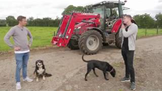 Shane Todd meets Paddy McNair on his farm in Ballyclare & is in for a surprise...