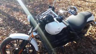 4. 2016 Kawasaki Vulcan Custom 900 comparison Yamaha Bolt R-Spec side by side compare
