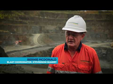 At the end of the day, it's about good blasting – Orica Quarry Solutions, Stevenson Group