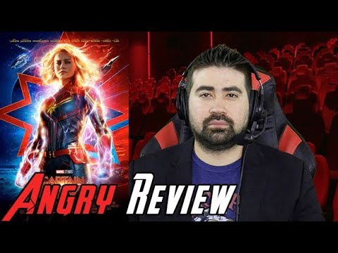 Captain Marvel Angry Movie Review