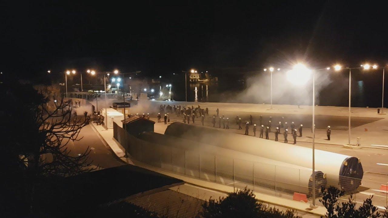 Επεισόδια στο λιμάνι των Μεστών της Χίου