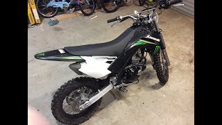3. Kawasaki KLX 140 Monster Edition