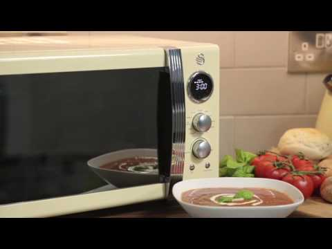 Swan Retro Combi Microwave