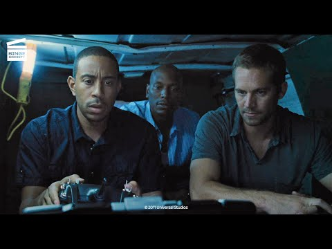 Fast Five: Bombing the Police Station Toilet HD CLIP