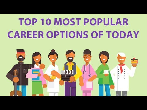 Top 10 most popular Career options of Today