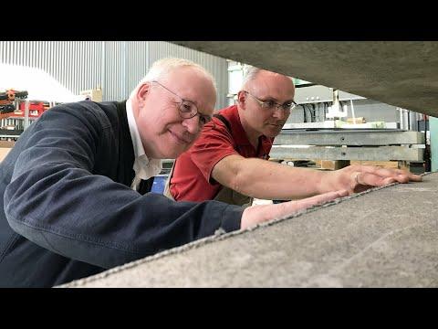 Carbon-Beton: »Mit einem Schlag 50 Prozent Beton spare ...