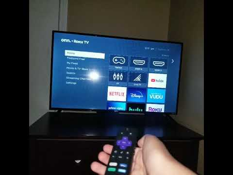 How to turn on a tv