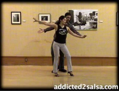 Salsa Dancing : Short Stride Salsa Latin Dance Moves