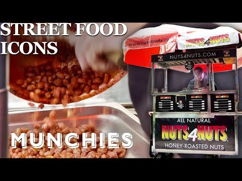 Download The Famous Roasted Nut Carts of New York City - Street Food Icons HD Mp4 3GP Video and MP3