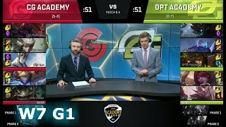 Video Clutch Gaming Academy vs OpTic Academy | Week 7 of S8 NA Academy League Spring 2018 | CGA vs OPTA MP3, 3GP, MP4, WEBM, AVI, FLV Agustus 2018