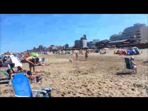 La Playa hermosa y el día mas aun !!!!