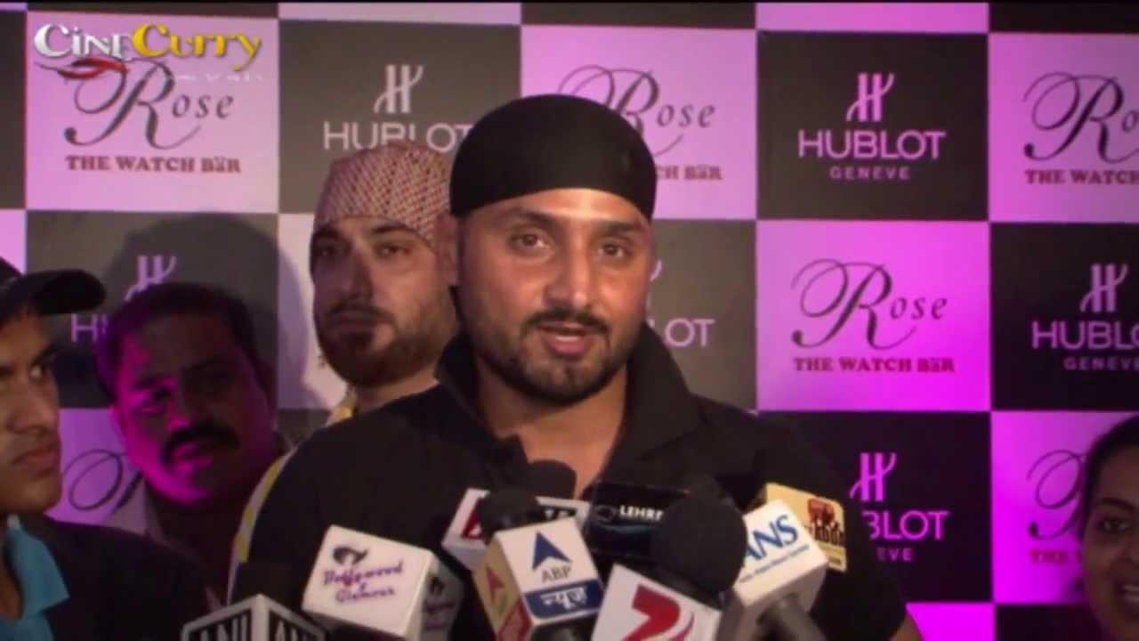 Harbhajan Singh Visits Rose – The Watch Bar