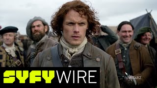 Ron Moore - who oversaw Battlestar Galactica - adapted the Outlander books into a TV show entering its third season. Here he previews Season 3, talks about the challenges of adaptation and creating stories that weren't in the books.►►Subscribe To SYFY Wire: http://po.st/SubscribeSYFYWireMore About Outlander: Outlander is a British-American television drama series based on the historical time travel Outlander series of novels by Diana Gabaldon. Developed by Ronald D. Moore and produced by Sony Pictures Television and Left Bank Pictures for Starz, the show premiered on August 9, 2014. It stars Caitriona Balfe as Claire Randall, a married World War II nurse who in 1945 finds herself transported back to the Scotland of 1743, where she encounters the dashing Highland warrior Jamie Fraser (Sam Heughan) and becomes embroiled in the Jacobite risings.SYFY WIRE is a fan-first genre news and editorial destination dedicated to covering science fiction and nerd culture across TV, Film, Books, Comics, space and technology with up-to-the-minute news, in-depth analysis and content that drives conversation and debate.Visit SYFYWIRE.com: po.st/SYFYWIREFind SYFYWIRE on Facebook: po.st/LikeSYFYWIREFollow SYFYWIRE on Twitter: po.st/FollowSYFYWIREOutlander Creator Ron Moore Previews Season 3, Creating Non-Book Stories  SYFY WIREhttps://www.youtube.com/channel/UC985XM8r_uh-_znGrj8HG9w