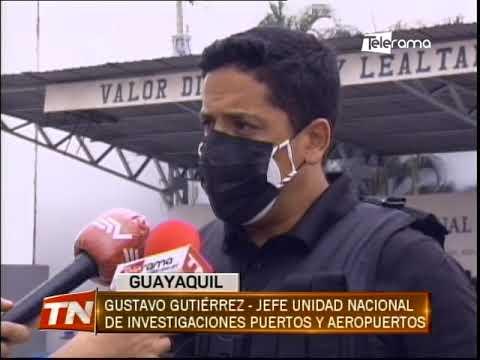 Detienen a 8 trabajadores del puerto marítimo que habrían contaminado contenedor