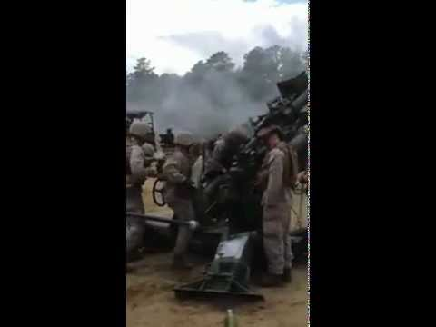 India Battery 3-14 AT 2012 at Fort Dix NJ M777a2 Howitzer