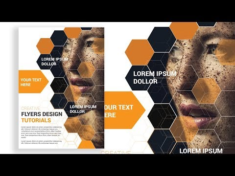 How To Design A Poster / Flyer  Illustrator Tutorial