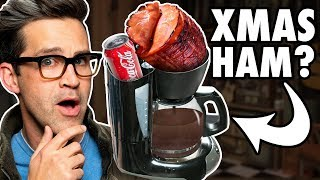 Making Christmas Dinner in a Coffee Maker