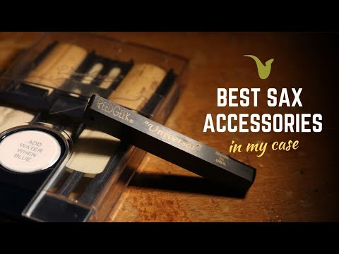 The 3 BEST ACCESSORIES In My Saxophone Case (you Need Them Too)