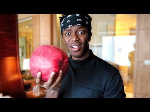 Eating World's Biggest Apple!