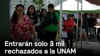 Rechazados de la UNAM entrarán a prepa - UNAM - En Punto con Denise Maerker