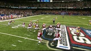 Trent Richardson vs LSU BCS Championship