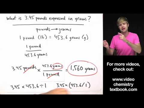 Unit - To see all my Chemistry videos, check out http://socratic.org/chemistry How to convert units using conversion factors and canceling units. Some people call t...