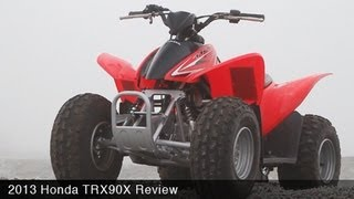 4. MotoUSA Kids ATV Shootout - 2013 Honda TRX 90