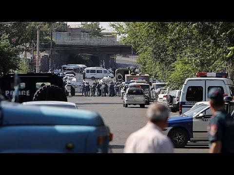 Αρμενία: Ένοπλοι εισέβαλαν σε αστυνομικό τμήμα και κράτησαν ομήρους