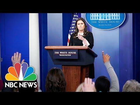 White House Press Briefing - June 18, 2018 | NBC News (видео)