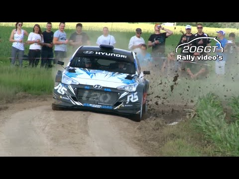 ERC Ypres Rally 2016 MISTAKES & ON THE LIMIT By_206GT