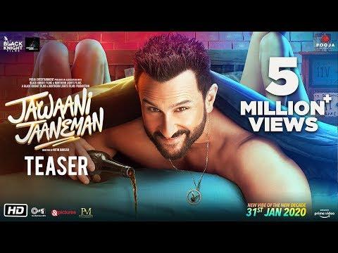 Jawaani Jaaneman - Teaser | Saif Ali Khan | Tabu | Alaya F | Nitin K | 31st Jan 2020
