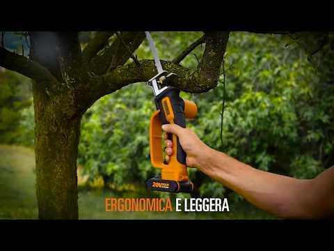 Sega multiuso a batteria worx  WG894E - italiano - www.worx.com